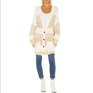 NWT Free People Southport beach knit cardigan